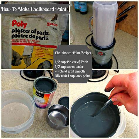 chalk paint diy recipes diy chalkboard paint epic failure turned sweet success