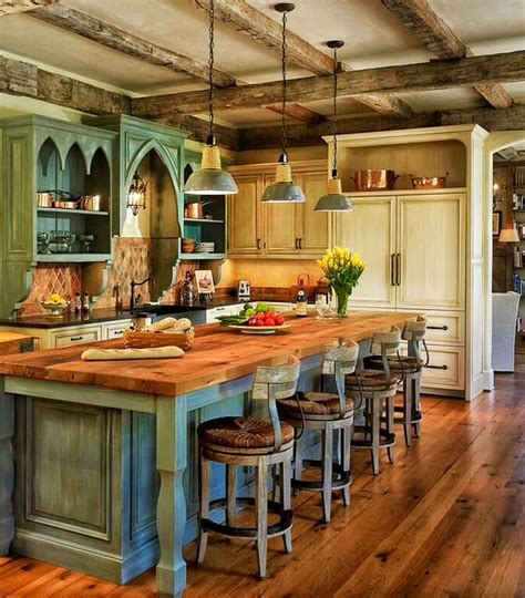 country home kitchen ideas 46 fabulous country kitchen designs ideas