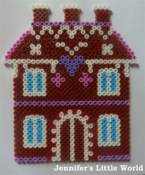 hama house design 17 best images about gingerbread perler on