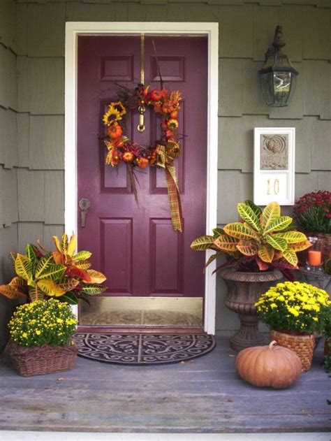 ideas for front door decor 67 and inviting fall front door d 233 cor ideas digsdigs