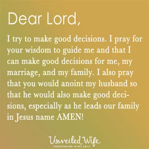 how to make prayer prayer choices