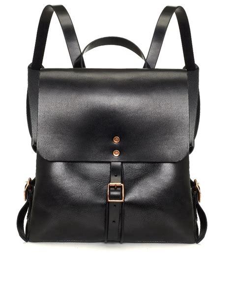 black leather backpacks black leather medium backpack alfie douglas avenue32 azzezories leather