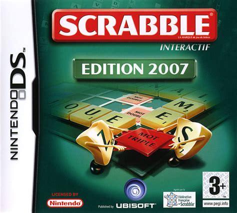 scrabble edition scrabble edition 2007 sur nintendo ds jeuxvideo