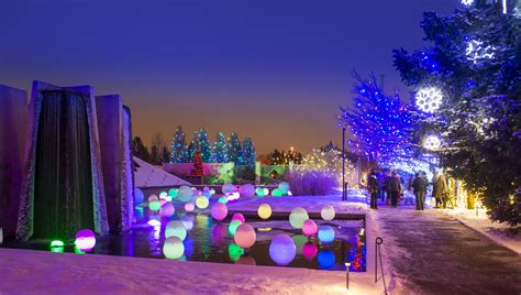 botanical garden of lights blossoms of light denver botanic gardens