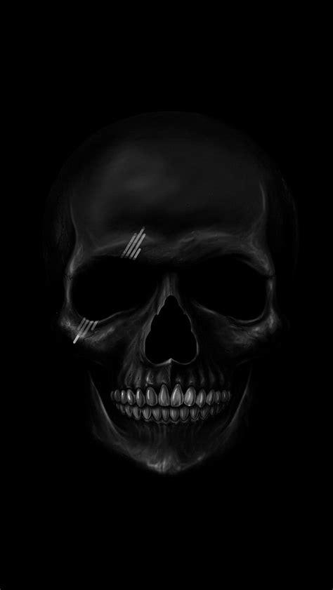 black skull black skull the iphone wallpapers