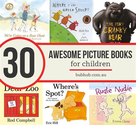 picture book authors 30 of the best picture books for children bub hub