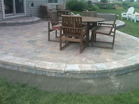 patios with pavers simple paver patio home design roosa