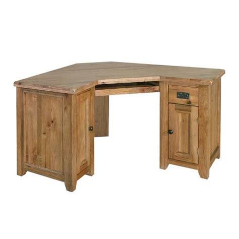 oak corner computer desks rumi solid oak furniture office corner computer desk ebay