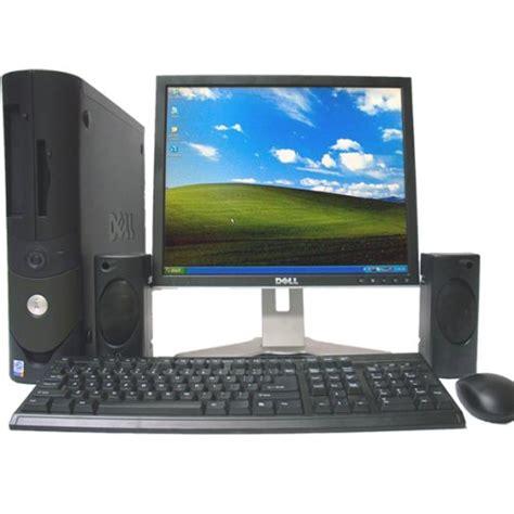 dell desk computers dell optiplex gx620 desktop computer with lcd monitordell
