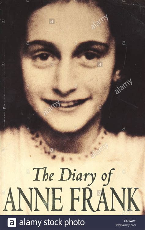a picture book of frank 1990s uk the diary of frank book cover stock photo