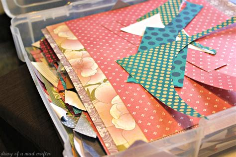 paper scraps crafts what to do with all this scrap paper diary of a mad