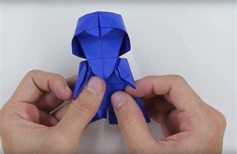 tadashi mori origami how to make an origami darth vader bored panda