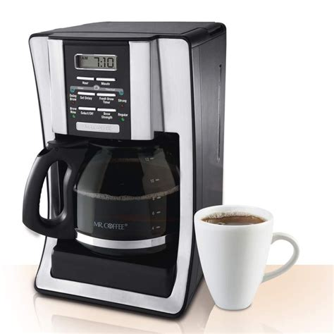 Mr. Coffee BVMC SJX33GT 12 Cup Programmable Coffeemaker chrome Review