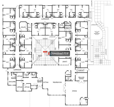 floor plans for assisted living facilities court assisted living memory care facility