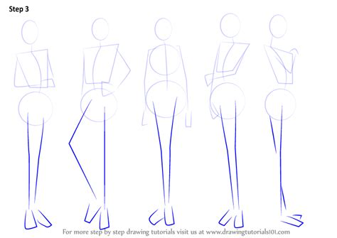 how to draw bodies learn how to draw anime step by step