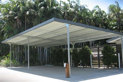 A Carport by Metal Carport Roof Pitch