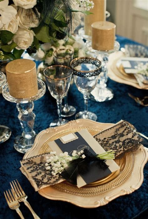 blue and gold decorations navy blue and gold wedding decorations sang maestro