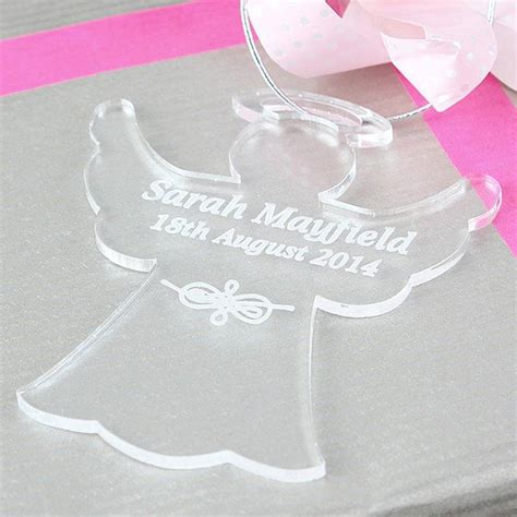 acrylic decorations personalised acrylic decoration by and willow