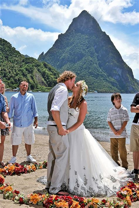 st wedding passions of the wedding package in st lucia