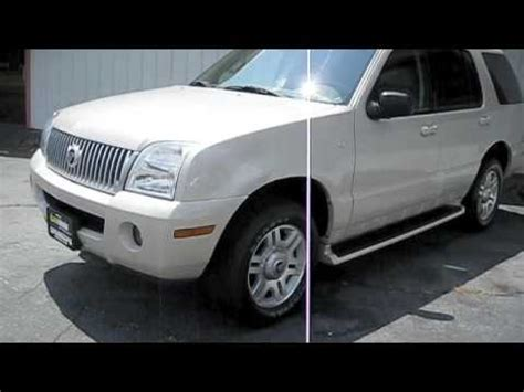 how it works cars 2005 mercury mountaineer navigation system 2005 mercury mountaineer premier quick start and tour youtube