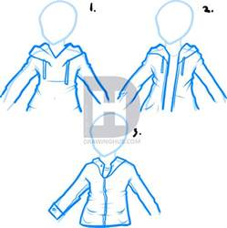 how to draw hoodies how to draw a hoodie draw hoodies step by step drawing