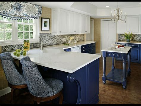 white and blue kitchen cabinets blue and white kitchen designing tips home and cabinet