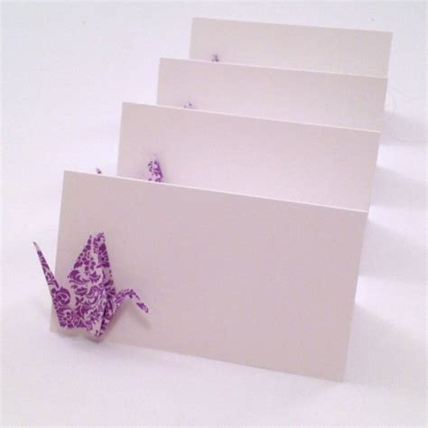 origami place card origami crane place cards wedding cards by nikkipoparts