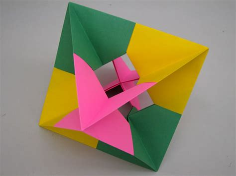 origami polyhedron cool origami with regular paper comot