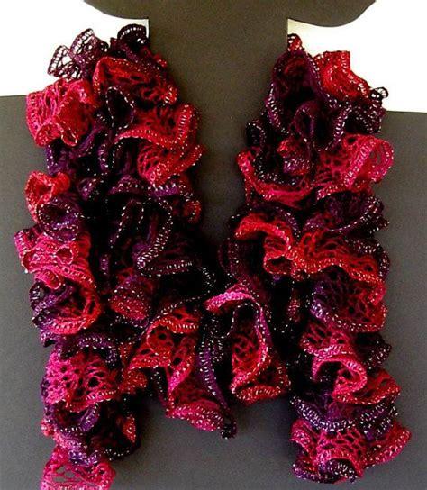 how to knit with sashay yarn for beginners sashay yarn crochet scarf pattern crochet