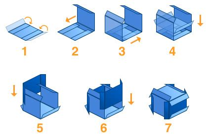 how to make a cube out of card mengermania