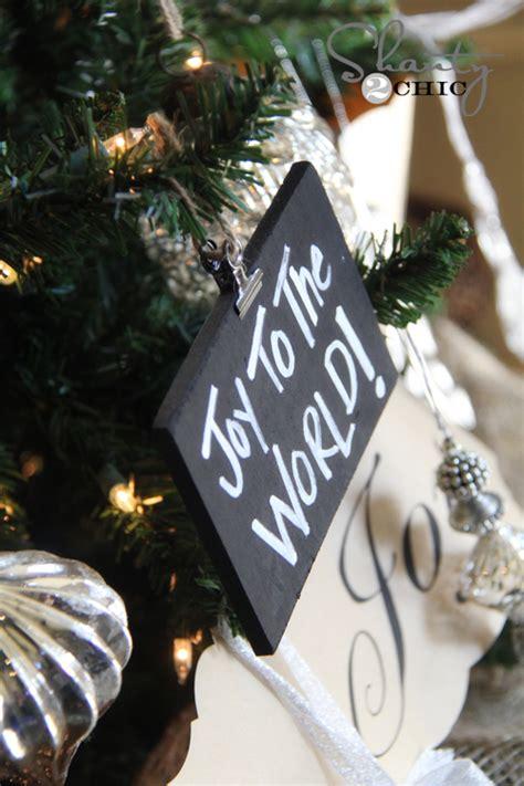 diy chalkboard ornaments diy ornaments chalkboard ornaments a giveaway