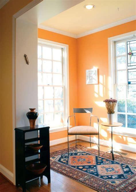 orange walls the underused interior design color how to use orange