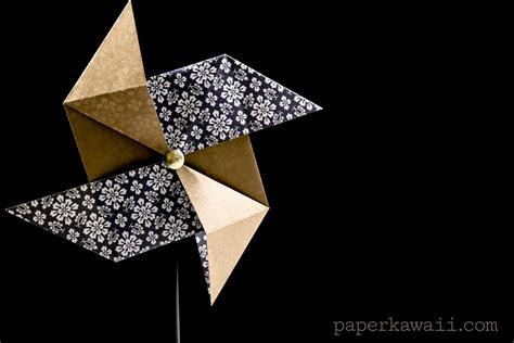 pinwheel origami traditional origami pinwheel tutorial paper kawaii
