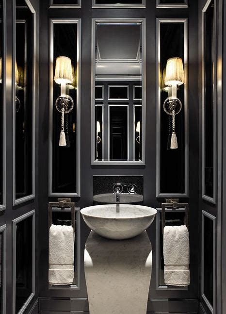 black and white small bathroom ideas black powder room contemporary bathroom