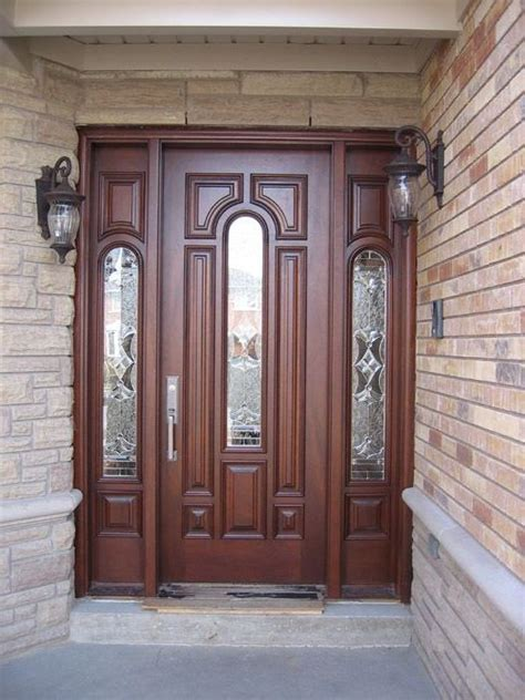 wood exterior front doors why you need a solid wood front door for your home