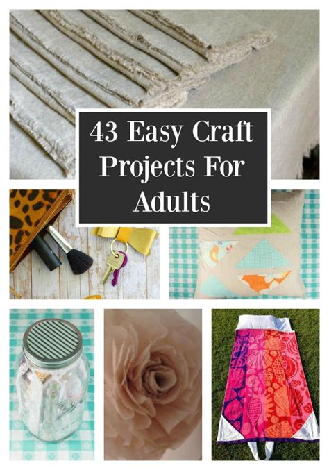 easy craft projects for adults 43 easy craft projects for adults favecrafts