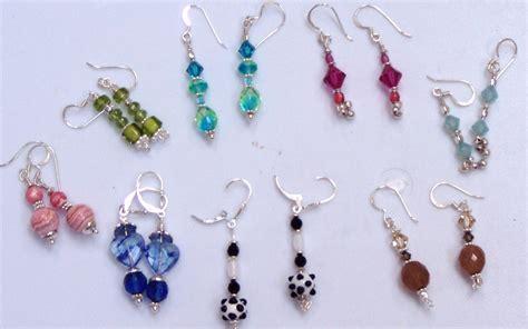 how to make beaded earrings earrings to make