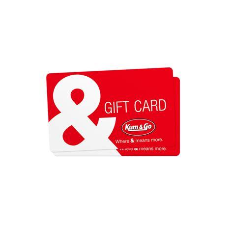 gift card gift card kum go retail