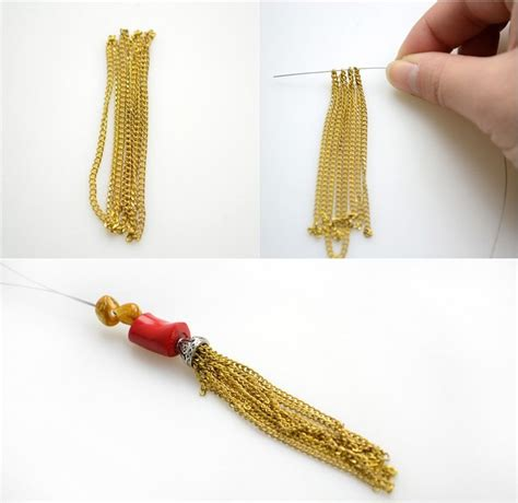 beaded tassel tutorial beading tutorials handmade bead jewelry for matching with