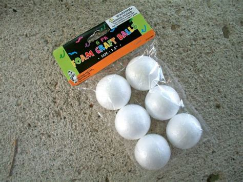 crafts with styrofoam balls for make a fabric wrapped necklace 187 dollar store crafts