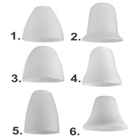 replacement light shades for ceiling lights set of 3 white glass domed ceiling light pendant shades