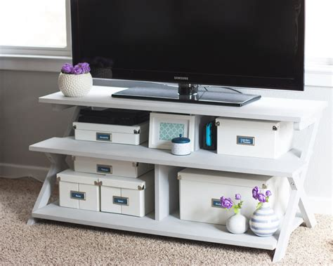 chalk paint tv stand from to light a painted tv stand makeover using
