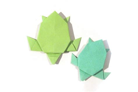 simple origami turtle origami turtle version tutorial how to make an