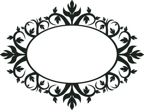 ornaments frames clipart ornament oval frame