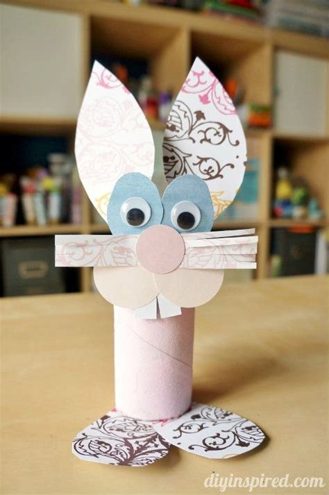easter craft ideas with toilet paper rolls toilet paper roll bunny craft bunny crafts toilet paper