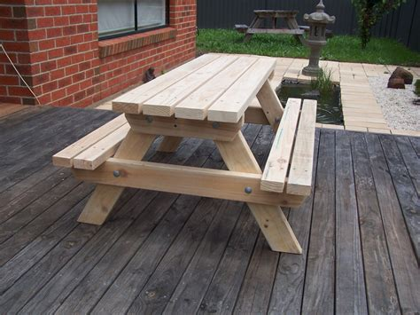 woodworking plans australia 100 wood picnic table with bench picnic