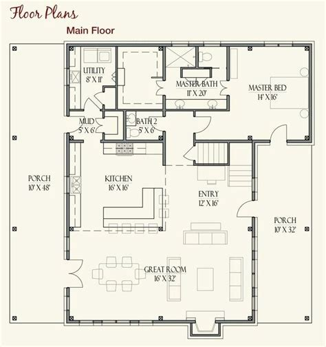 farmhouse floor plan farm home floor plans best ideas about small farmhouse country cottage style large house