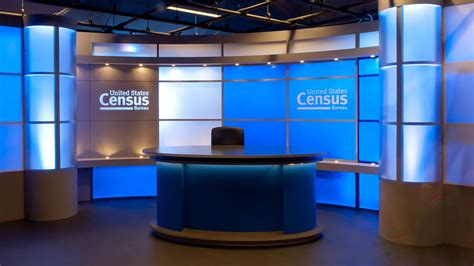 tv studio desk broadcast and tv set design gelbach designs inc