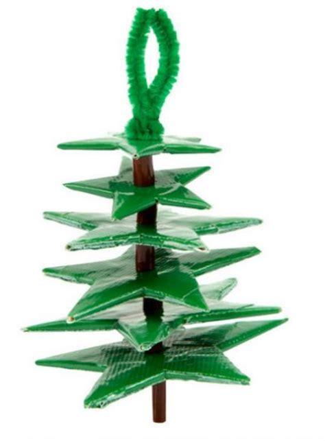 duct ornaments duct tree ornament family crafts