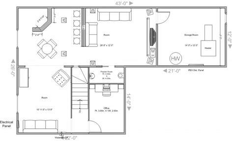 basement layouts basement design layouts design ideas